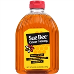 Sue Bee White Honey In Plastic - 40 Oz.