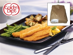Kerry Golden Dipt Seafood Breader - 25 Lb.