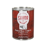 Savor Pineapple Tidbit - 20 Oz.