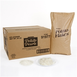 Basic American Instant Potato Flakes 5 Pound
