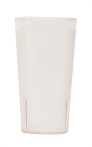 Cambro Colorware Plastic Tumbler Clear 16 Oz.