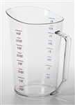 Cambro Plastic Measuring Cup Clear 4 Quart