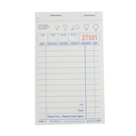 National Checking Carbonless Shrink Waiterpad White 13 Line - 3.4 in. x 5.38 in.