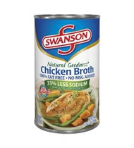 Campbell's Swanson Natural Goodness Chicken Broth Soup 49.5 Oz.