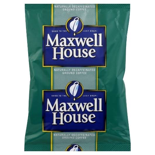 Kraft Nabisco Maxwell House Decaffeinated Office Coffee Service - 1.25 Oz.
