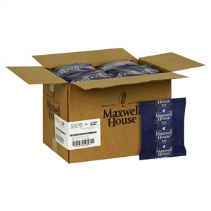 Kraft Nabisco Maxwell House Master Blend Fraction Coffee - 3.75 Oz. Packets - 64 Packets Per Case