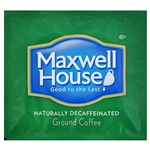 Kraft Nabisco Maxwell House Decaffeinated Coffee Filterpack - 0.7 Oz. Filter Pack - 100 Packs Per Case