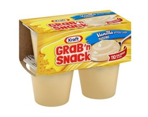 Kraft Nabisco Handi Snacks Vanilla Pudding - 3.5 Oz.