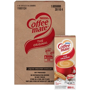 Nestle Coffee Mate Regular Liquid Creamer - 0.38 Oz.
