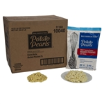 Basic American Potato Pearls Excel 27.16 oz. Creamy Butter with Skins Mashed Potatoes