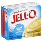 Kraft Nabisco Jello Sugar Fat Free Instant Vanilla Pudding - 1 Oz.