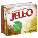 Jello Pudding Instant Coconut - 3.4 Oz.
