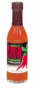B and G Foods Red Devil Hot Original 6 oz. Sauce