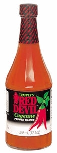 B and G Foods Red Devil Hot Original 12 oz. Sauce