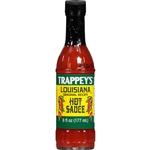 B and G Foods Trappys Louisiana 6 oz. Hot Sauce