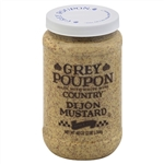 Kraft Heinz Grey Poupon Country Dijon Mustard - 48 Oz.