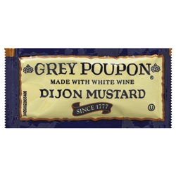 Kraft Nabisco Grey Poupon Mustard Dijon General Purpose Sauce - 0.25 Oz.