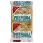 Kraft Nabisco Premium Saltines Unsalted Cracker - 0.2 Oz.