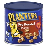 Planters Dry Roasted Salted Peanut - 52 Oz. Container