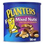Kraft Nabisco Planters Regular Mixed Nuts - 56 Oz.