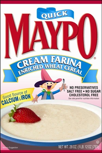 Homestat Farms Maypo Cream Farina Cereal 28 Oz
