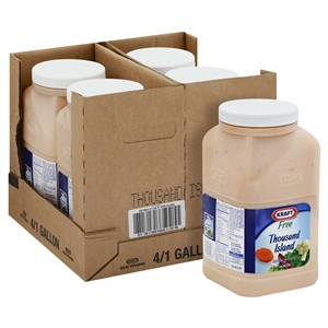 Thousand Island Fat Free Dressing - 1 Gallon