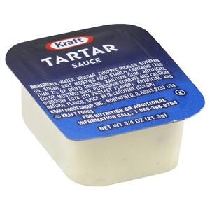 Kraft Nabisco Condiments Tartar Sauce Cup - 0.75 Oz.