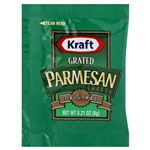 Cheese Grated Parmesan - 0.21 Oz.