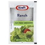 Kraft Nabisco Ranch Fat Free Dressing - 1.5 Oz.