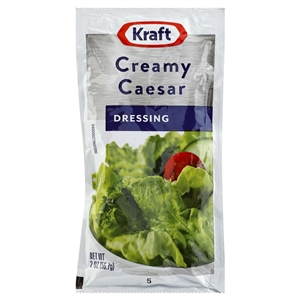 Kraft Nabisco Signature Creamy Caesar Dressing - 2 Oz.