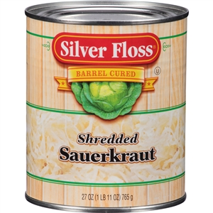 Great Lakes Silver Floss Vegetable Regular Sauerkraut 27 Oz