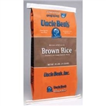Mars Foodservice Uncle Bens Whole Grain Brown Rice 25 lb.