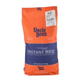 Mars Foodservice Uncle Bens Instant Rice 25 Pound