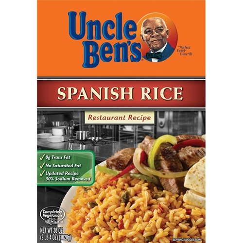 Mars Foodservice Uncle Bens Spanish Rice 36 Oz