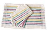 BVT-Chef Revival Cotton Terry Cloth 15 in. x 26 in. Multi-Stripe Towel