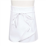 BVT-Chef Revival White 4 Way Poly Cotton 34 in. x 34 in. Apron