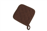 BVT-Chef Revival Terry Cloth Brown 8 in. x 8 in. Pot Holder