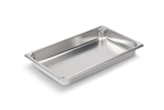 Vollrath Super Pan II Stainless Steel Full Size Steam Table Pan - 2.5 in.