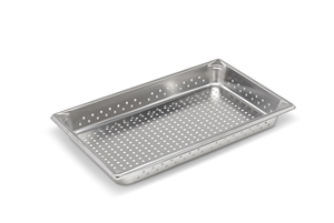 Vollrath Super Pan II Full Size Perforated Steam Table Pan - 2.5 in.