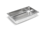 Vollrath Super Pan II Full Size Perforated Steam Table Pan - 4 in.
