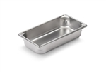 Vollrath Super Pan II Stainless Steel One Third Size Steam Table Pan 2.5 in.