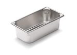 Vollrath Super Pan II Stainless Steel One Fourth Size Steam Table Pan 4 in.