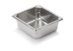 Vollrath Super Pan II Stainless Steel One Sixth Size Steam Table Pan 2.5 in.