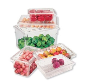 Cambro Plastic Container Clear 5 Gal.