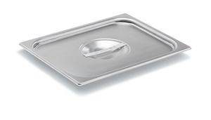 Vollrath Super Pan II Stainless Steel Half Size Flat Solid Cover