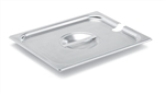 Vollrath Super Pan II Stainless Steel Flat Slotted Cover One Fourth Size