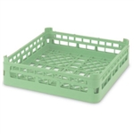 Vollrath Plastic Open Rack Dish Green
