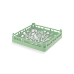 Vollrath Full Size Flatware Rack Green - 20 in. x 20 in.