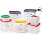 Cambro Plastic Square Container White 18 Quart