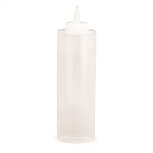Tablecraft Squeeze Dispenser Clear - 12 Oz.